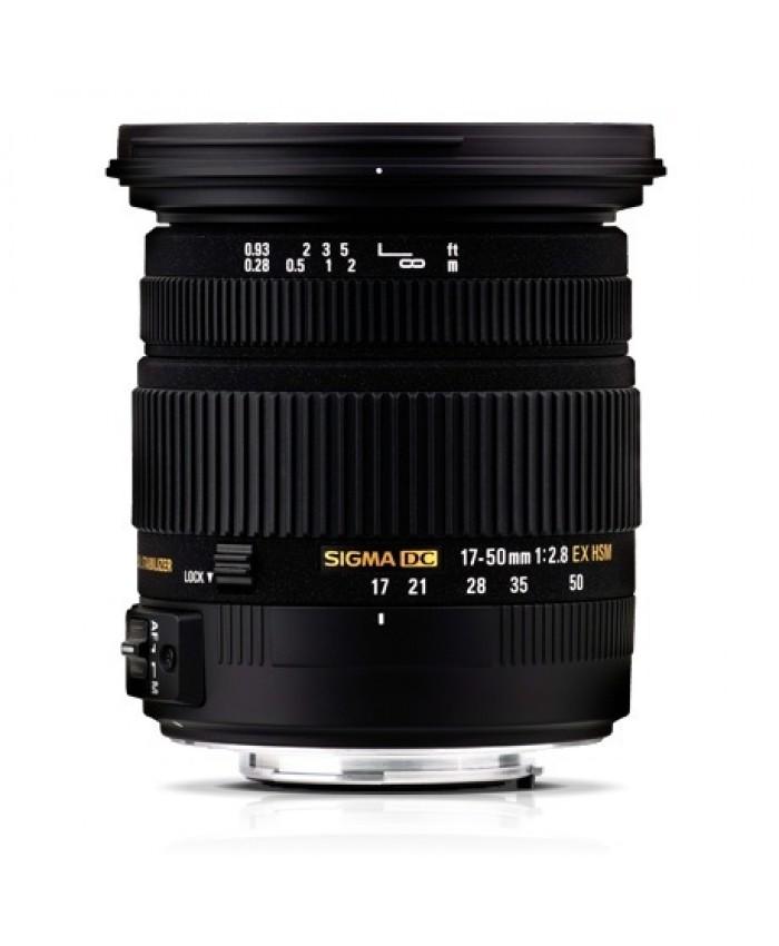 Sigma 17-50 f/2.8 DC OS - Canon